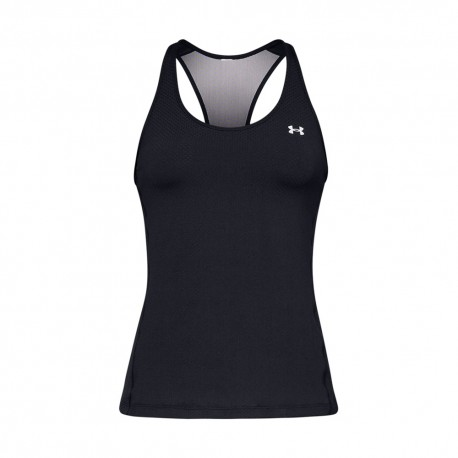 Under Armour Canotta Palestra Sis Nero Donna