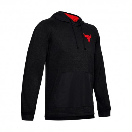 Under Armour Felpa Palestra The Rock Grigio Uomo