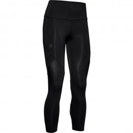 Under Armour Leggings Sportivi 3/4 Crop Top Nero Donna
