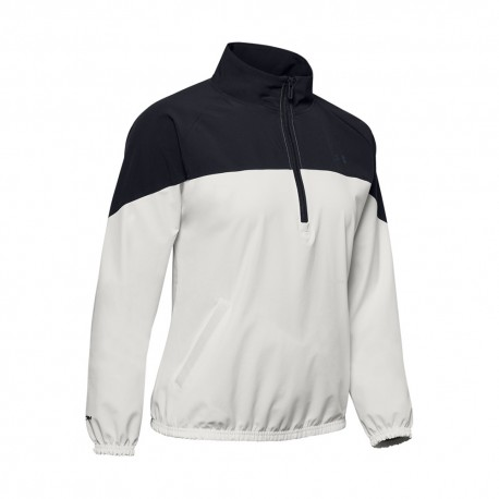 Under Armour Maglietta Palestra Anorak Train Bianco Donna