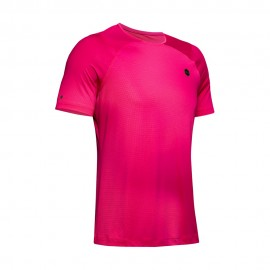 Under Armour Maglietta Palestra Rush Fitted Fucsia Uomo