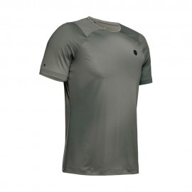 Under Armour Maglietta Palestra Train Rush Fitted Nero Uomo