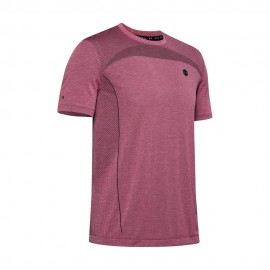 Under Armour Maglietta Palestra Train Rush Fucsia Uomo
