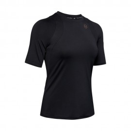 Under Armour Maglietta Palestra Train Rush Nero Donna