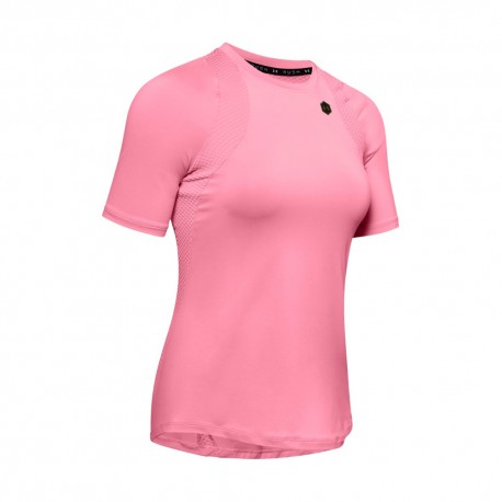 Under Armour Maglietta Palestra Train Rush Rosa Donna