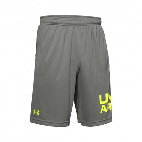 Under Armour Pantaloncino Palestra Tech Train Grigio Uomo