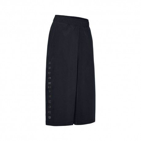 Under Armour Pantalone Palestra Crop Top Train Nero Donna