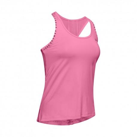 Reebok Da Donna Pantaloni Gym Canotta Canottiera Fitness Training Tee-Viola-XS