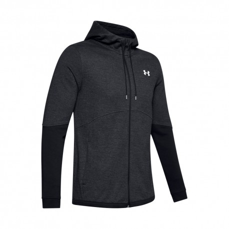 Under Armour Felpa Palestra Double Knit Nero Uomo