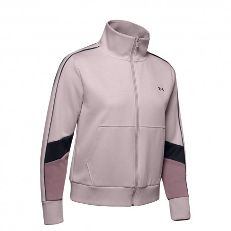 Under Armour Felpa Palestra Double Knit Rosa Donna