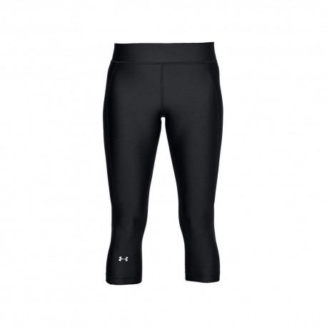 Under Armour Leggings Palestra Logo Nero Donna