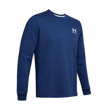 Under Armour Maglietta Palestra Logo Blu Uomo