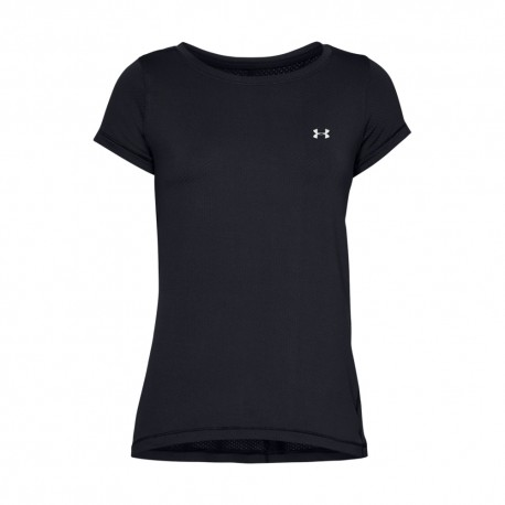 Under Armour Maglietta Palestra Tech Nero Donna