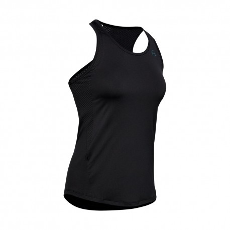 Under Armour Maglietta Palestra Nero Donna