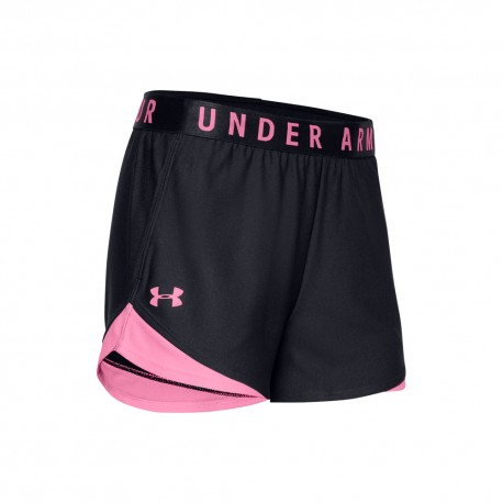 Under Armour Pantaloncino Palestra Tech Nero Donna
