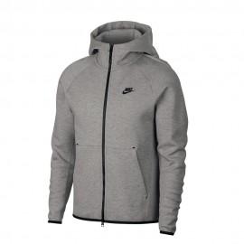 Nike Felpa Tech Flc Grigio Uomo