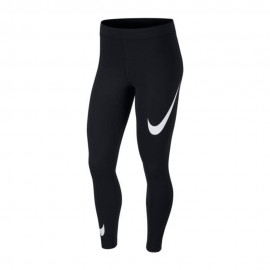 Nike Leggings Logo Nero Donna