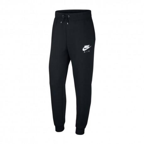 Nike Pantaloni Con Polsino Nero Donna