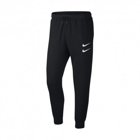 Nike Pantaloni Swoosh Nero Uomo