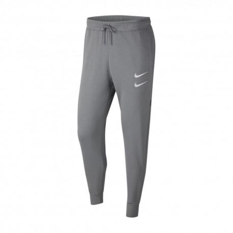 Nike Pantaloni Swoosh Grigio Uomo