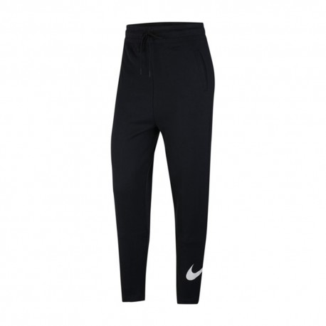 Nike Pantaloni Swoosh Nero Donna
