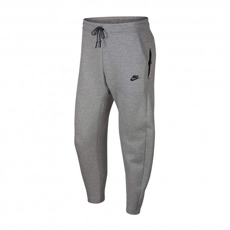 Nike Pantaloni Tech Flc Grigio Uomo