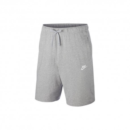 Nike Shorts Logo Grigio Uomo