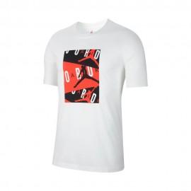 Nike T-Shirt Jordan Bianco Uomo