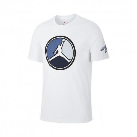 Nike T-Shirt Jordanrdan Remastered Bianco Uomo