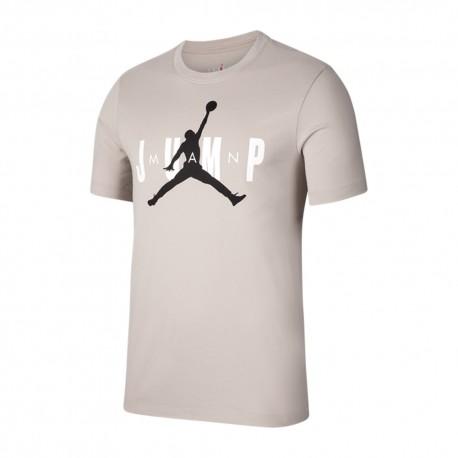 Nike T-Shirt Jump Jordan Bianco Uomo