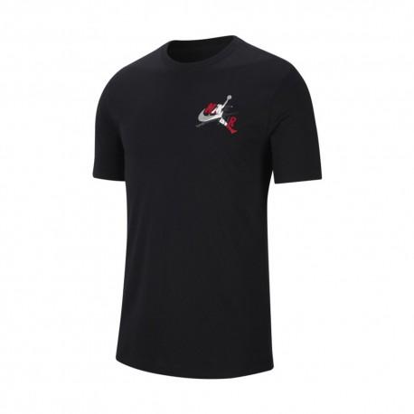 Nike T-Shirt Logo Jordan Nero Uomo