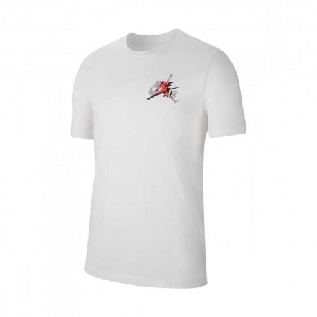 Nike T-Shirt Logo Jordan Bianco Uomo
