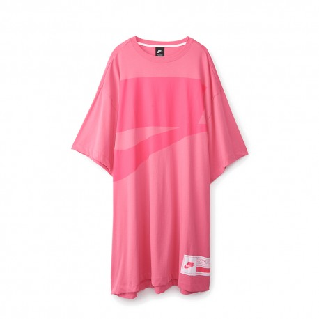 Nike T-Shirt Over Fuxia Donna
