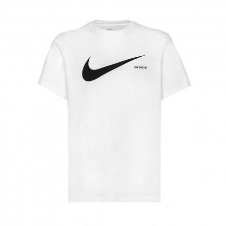 Nike T-Shirt Swoosh Bianco Uomo