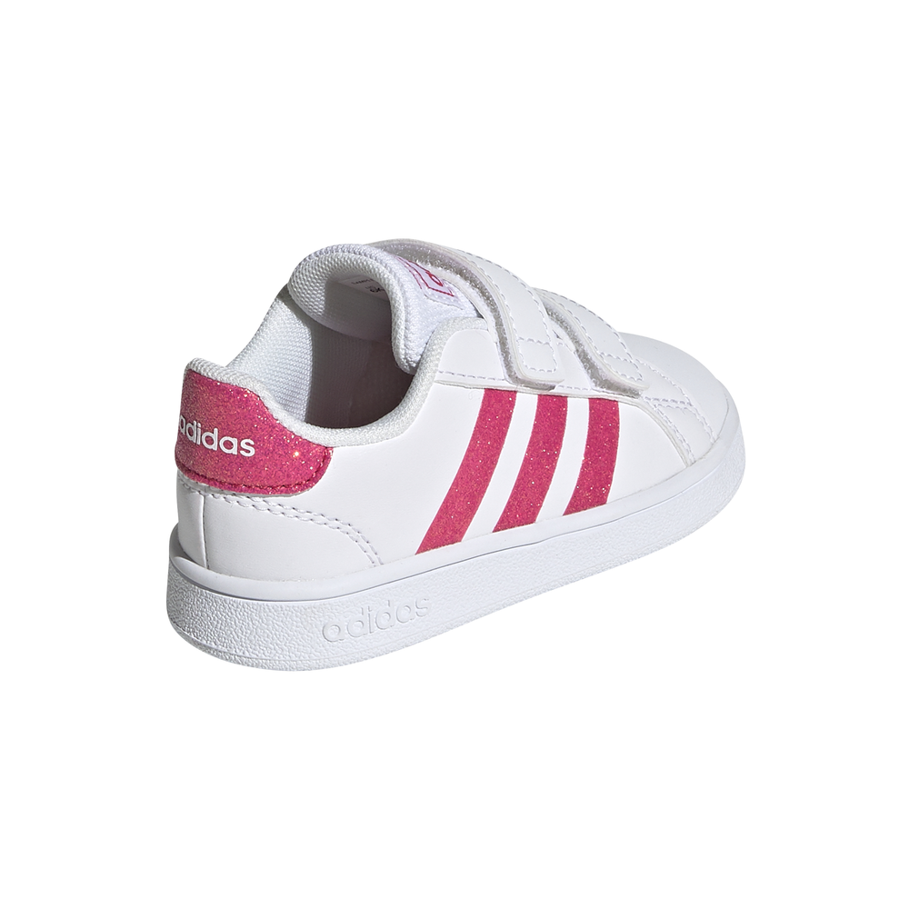 ADIDAS sneakers grand court bianco rosa bambino Acquista