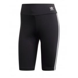 ADIDAS originals shorts ciclista 3 stripes nero donna