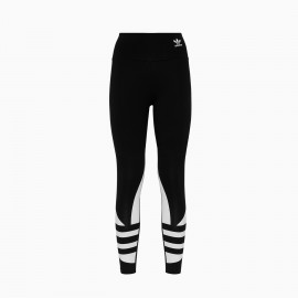 ADIDAS originals leggings big logo nero donna