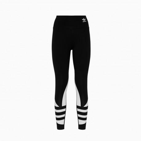 ADIDAS originals leggings big logo nero donna
