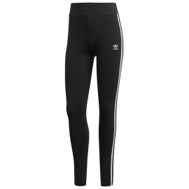 ADIDAS originals leggings trefoil nero donna