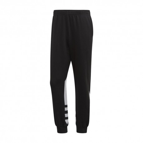 ADIDAS originals pantaloni big logo nero uomo