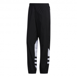 ADIDAS originals pantaloni con polsino big logo nero uomo
