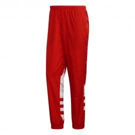 ADIDAS originals pantaloni con polsino big logo rosso uomo