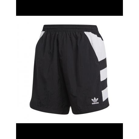 ADIDAS originals shorts big logo nero donna