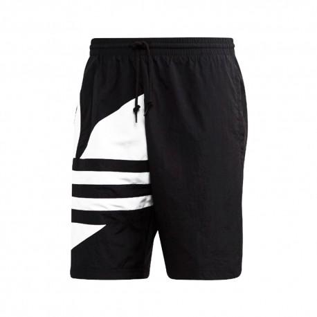 ADIDAS originals shorts big logo nero uomo