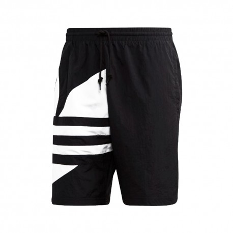 ADIDAS originals shorts big logo nero uomo