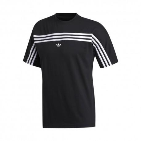 ADIDAS originals t-shirt 3 s back nero uomo