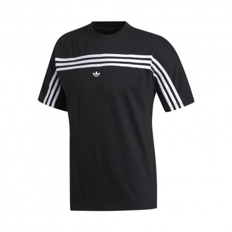 ADIDAS originals t-shirt 3 s back nero uomo