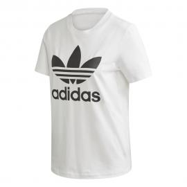 ADIDAS originals t-shirt big logo bianco donna