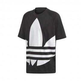 ADIDAS originals t-shirt big logo nero uomo