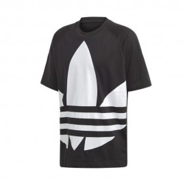 ADIDAS originals t-shirt big logo nero uomo